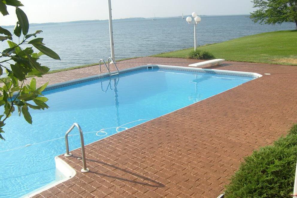 Concrete Pool Deck Paint Reviews Home Design Ideas
