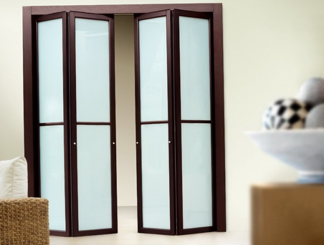 Contemporary Bi Fold Closet Doors