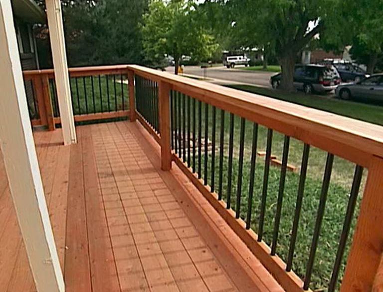 Cool Deck Railing Ideas Home Design Ideas
