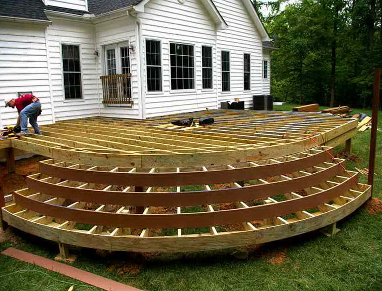 Cool elevated deck ideas home design ideas for Neat deck ideas