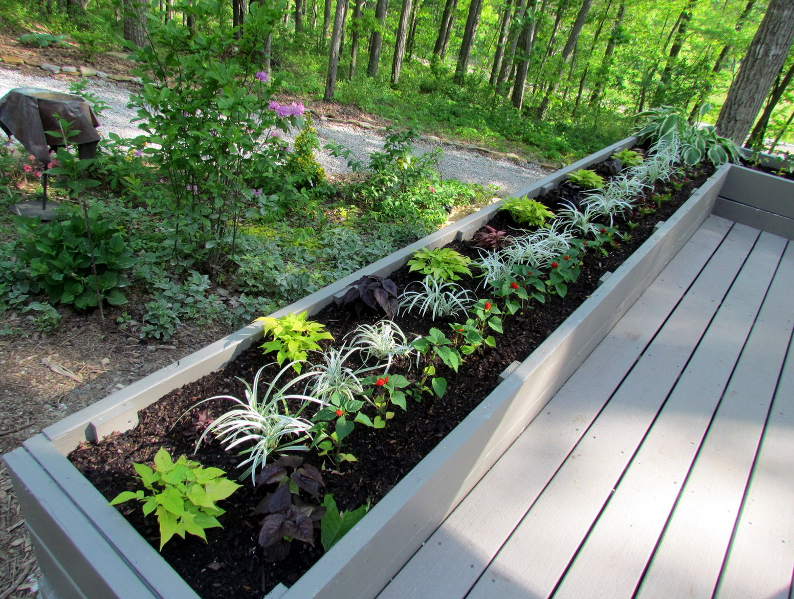 Deck Flower Boxes Plans
