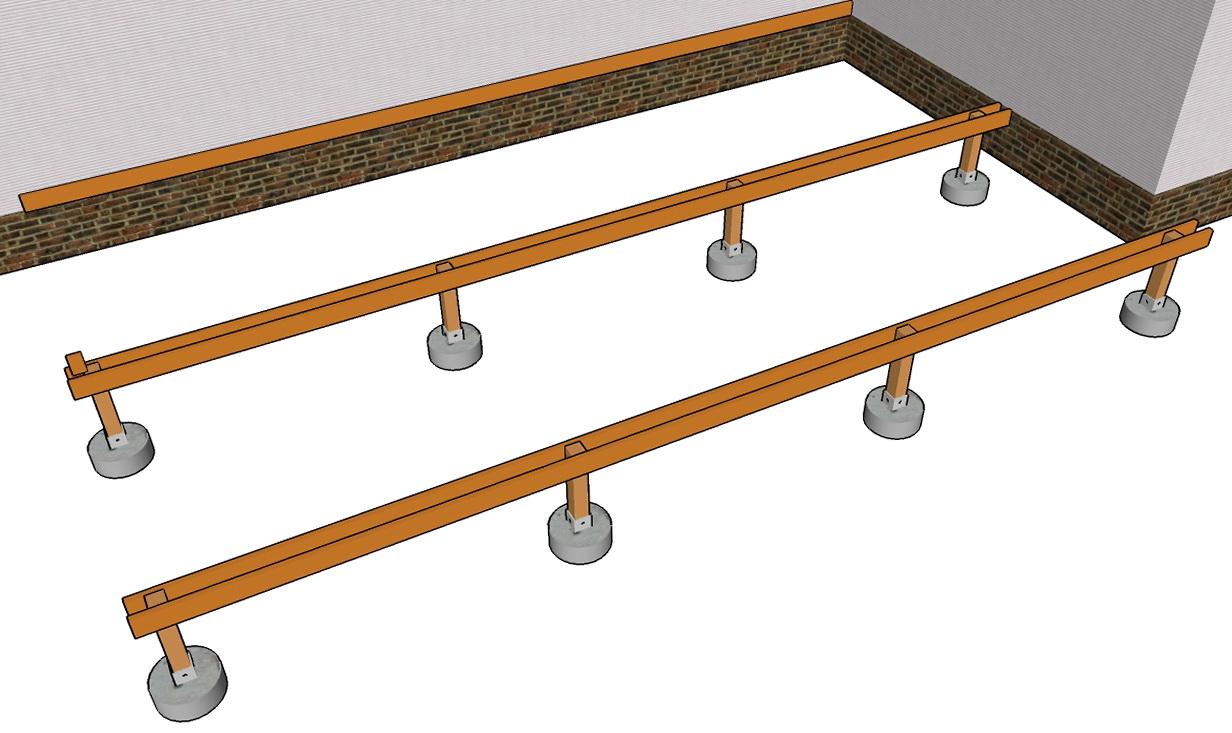 Deck Framing Plans Free | Home Design Ideas