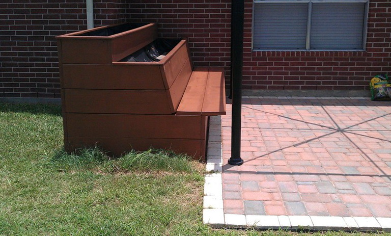 Deck Planter Boxes Diy
