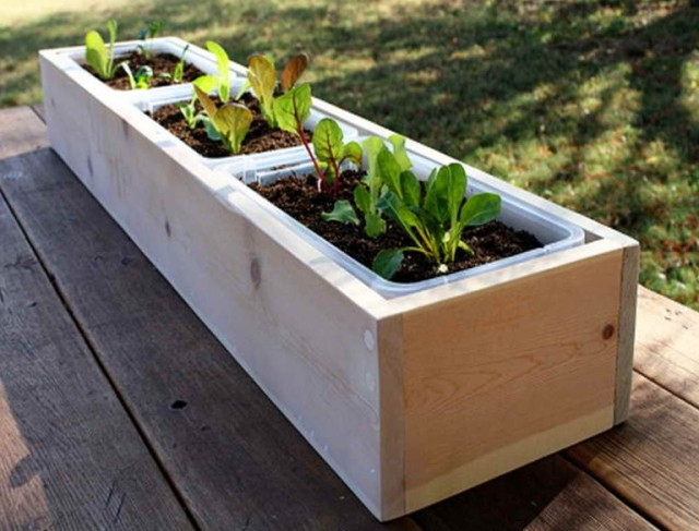 Deck Planter Boxes Plans