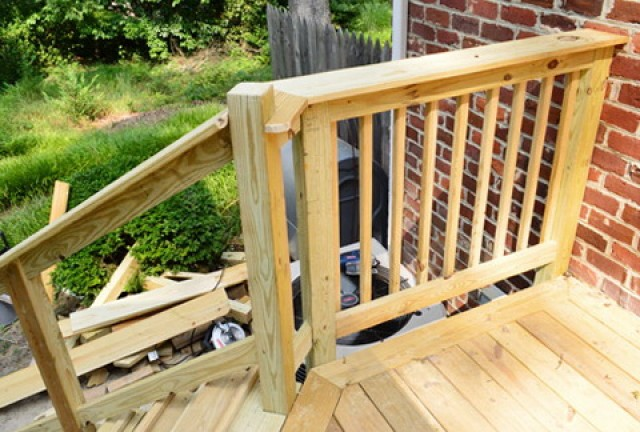 Deck Rail Height Requirements