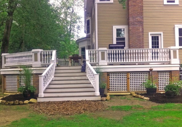 Deck Rail Heights Code