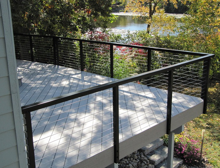 Deck Railing Kits Lowes Home Design Ideas