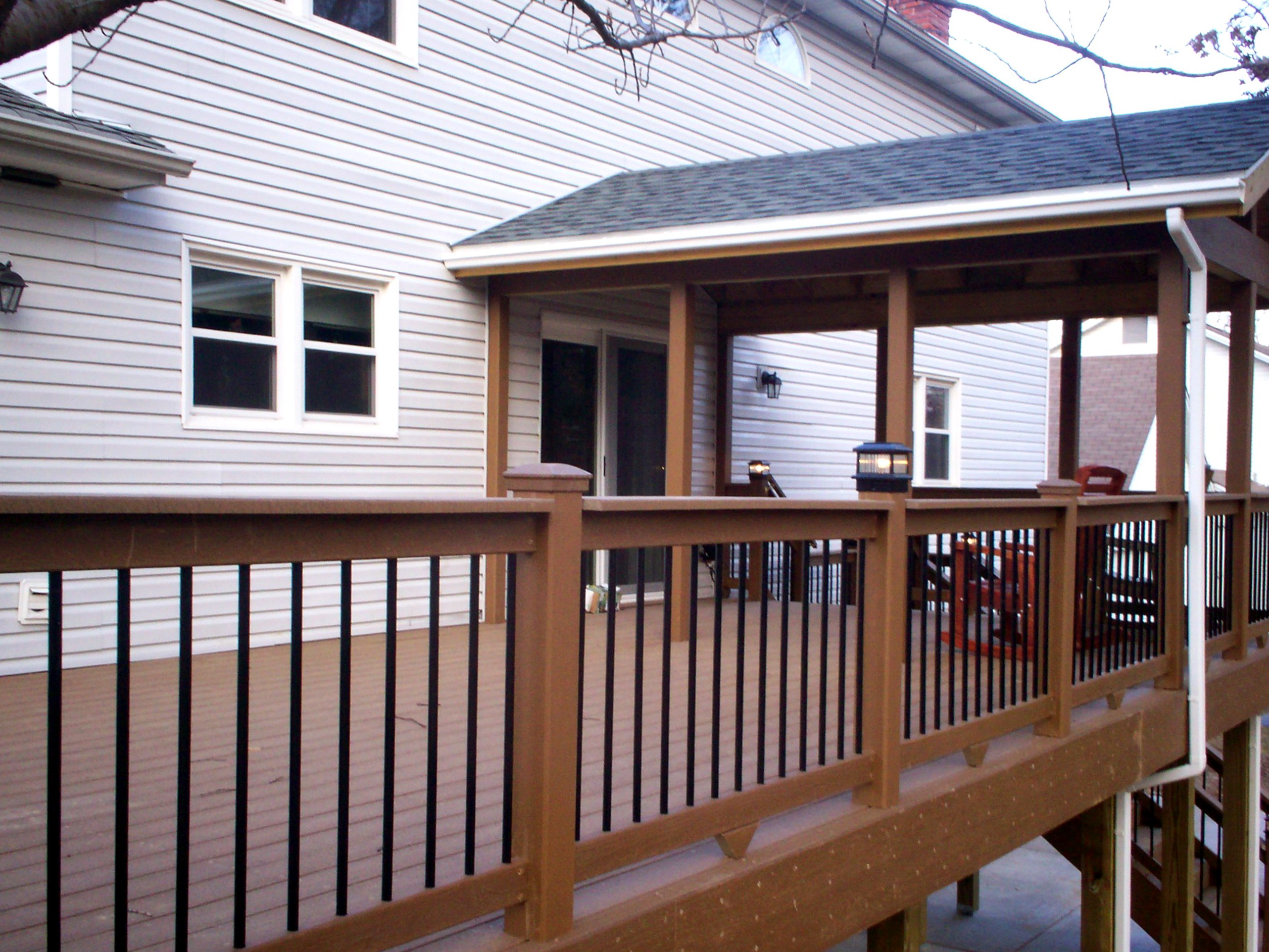 Deck With Roof Design
