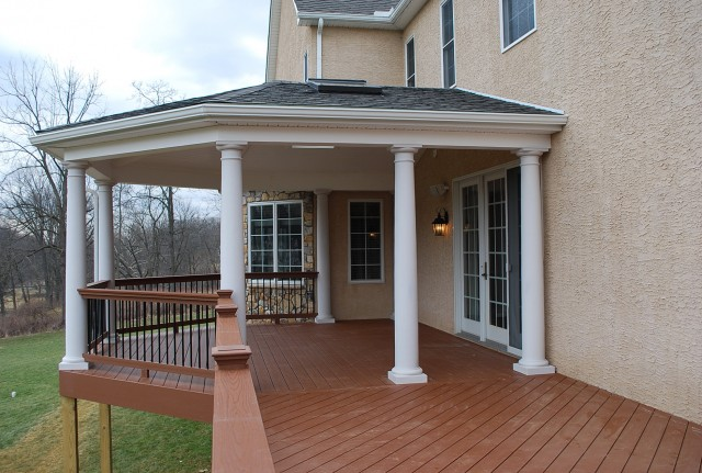 Deck With Roof Plans