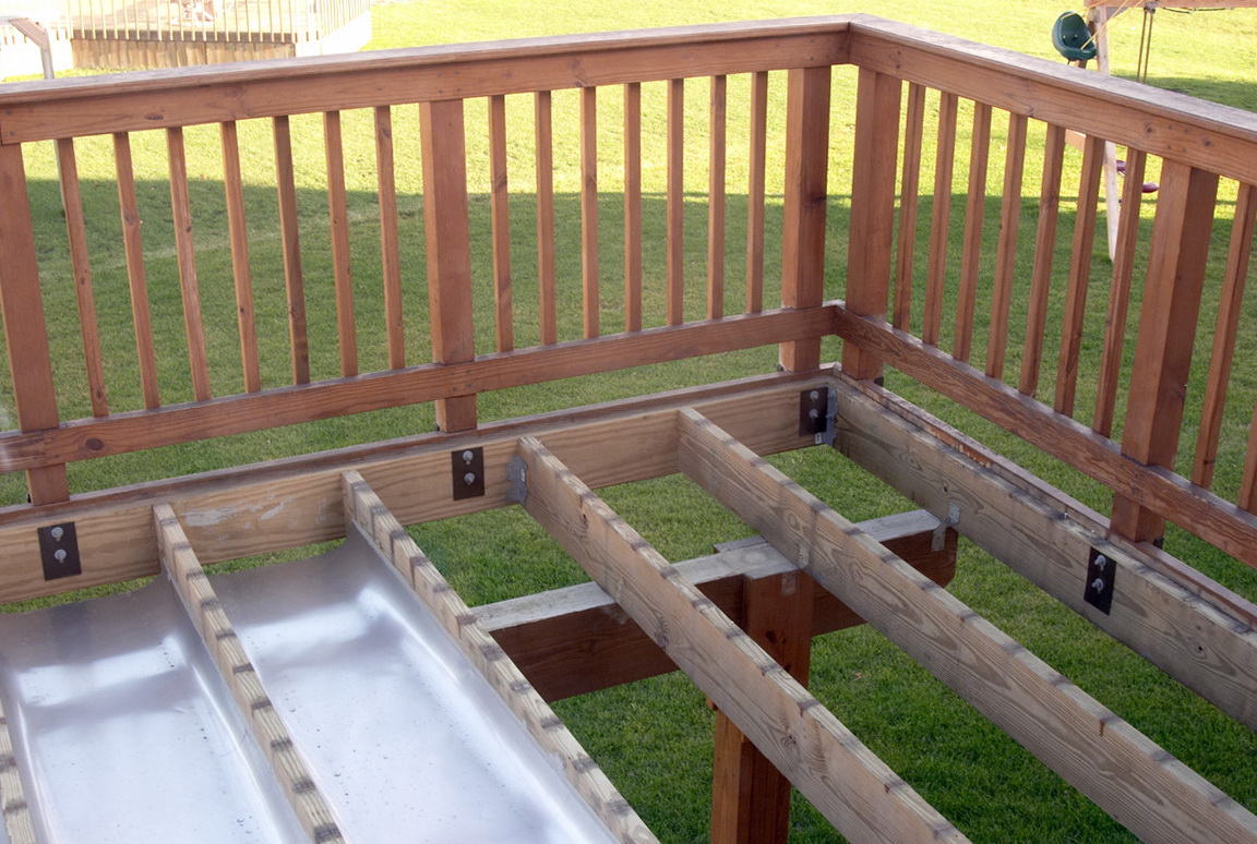 Deck With Shed Roof