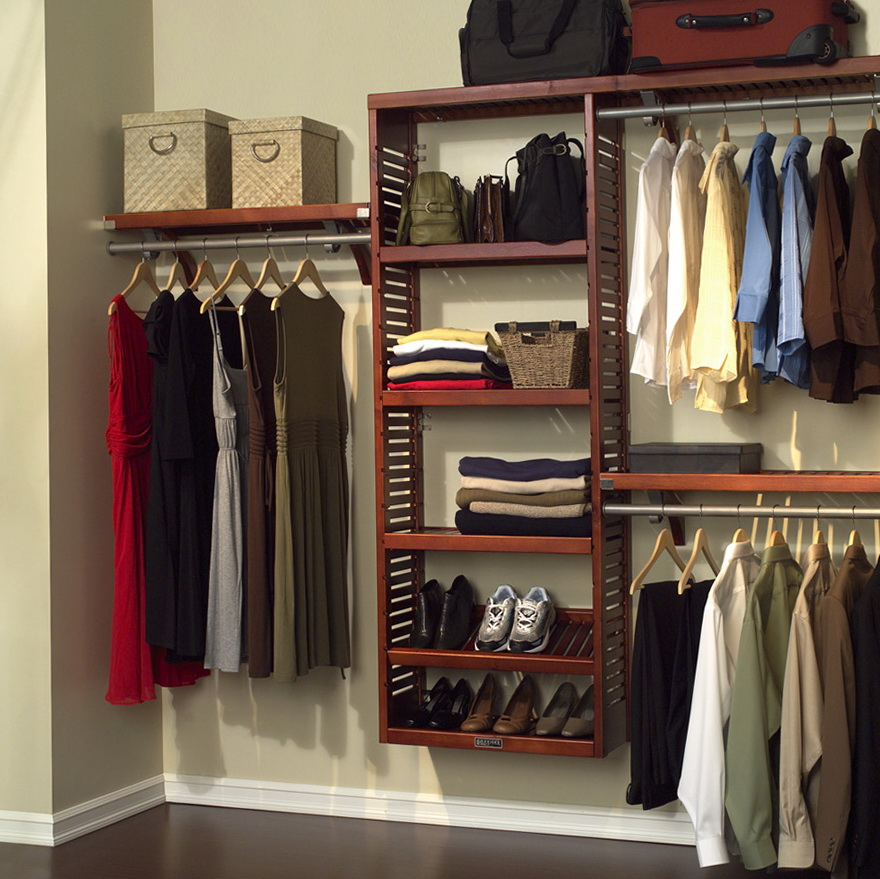 Deep Closet Storage Solutions