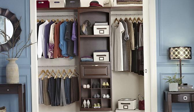 Design Your Own Closet Organizers