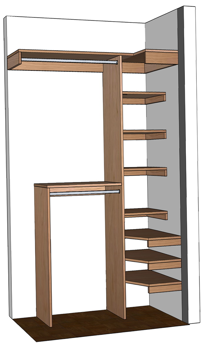 Diy Shoe Organizer For Small Closet