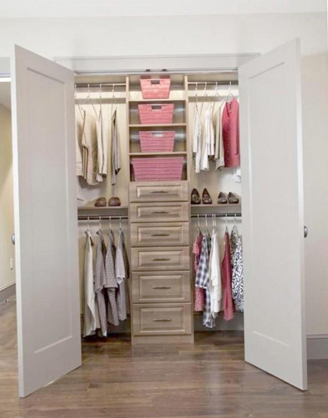 walk in closet organization ideas - Narrow Walk In Closet Organization Ideas