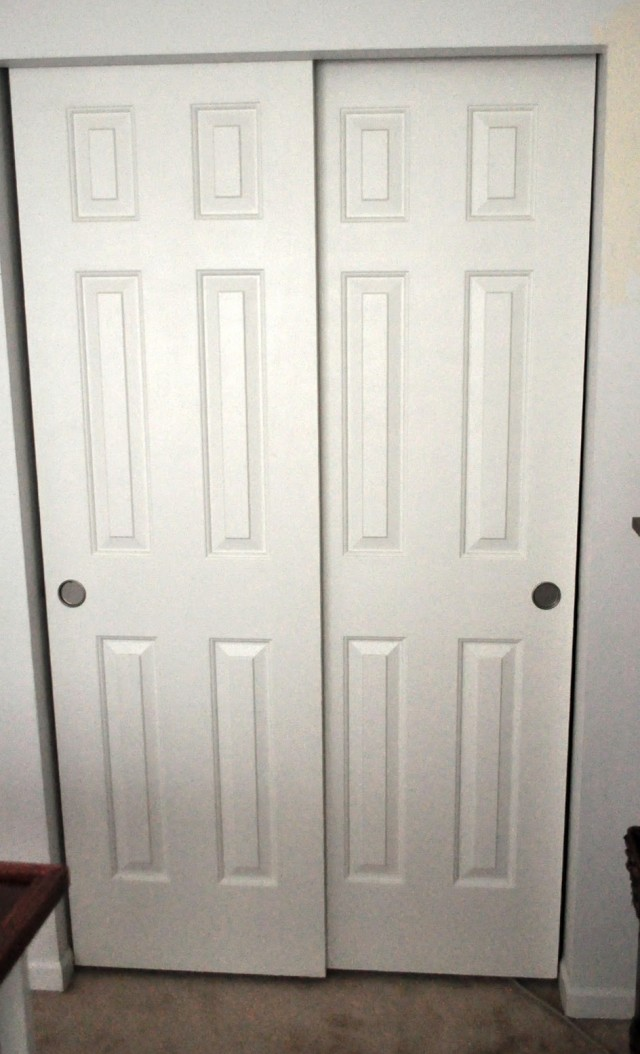 Double Closet Doors Lowes