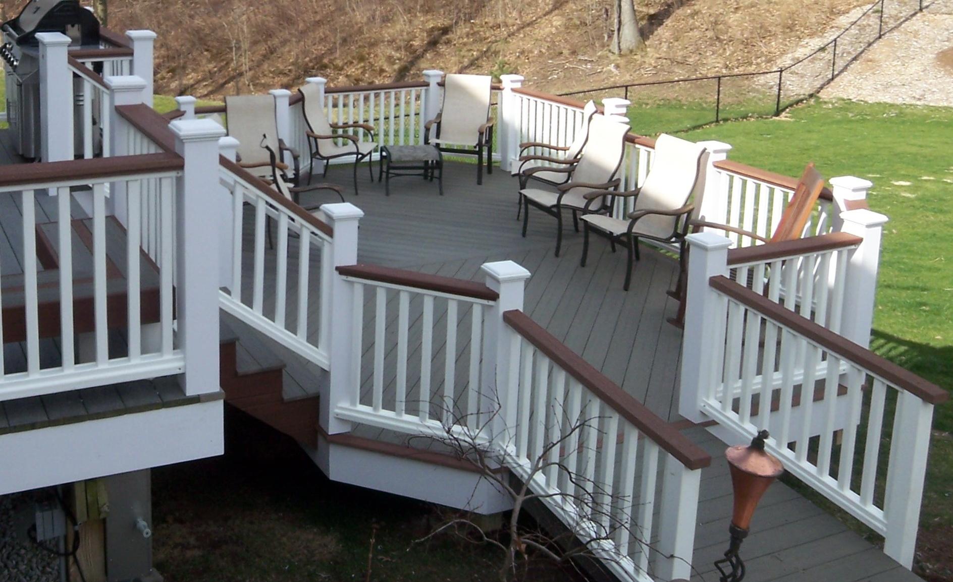 Evergrain composite decking colors home design ideas for Colors of composite decking
