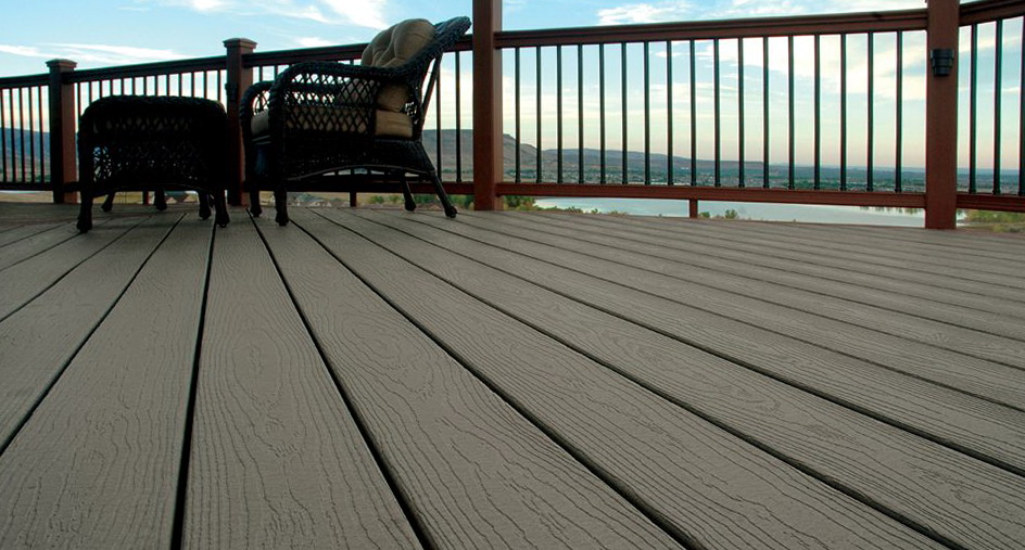 Veranda composite decking reviews spillo caves for Evergrain decking vs trex
