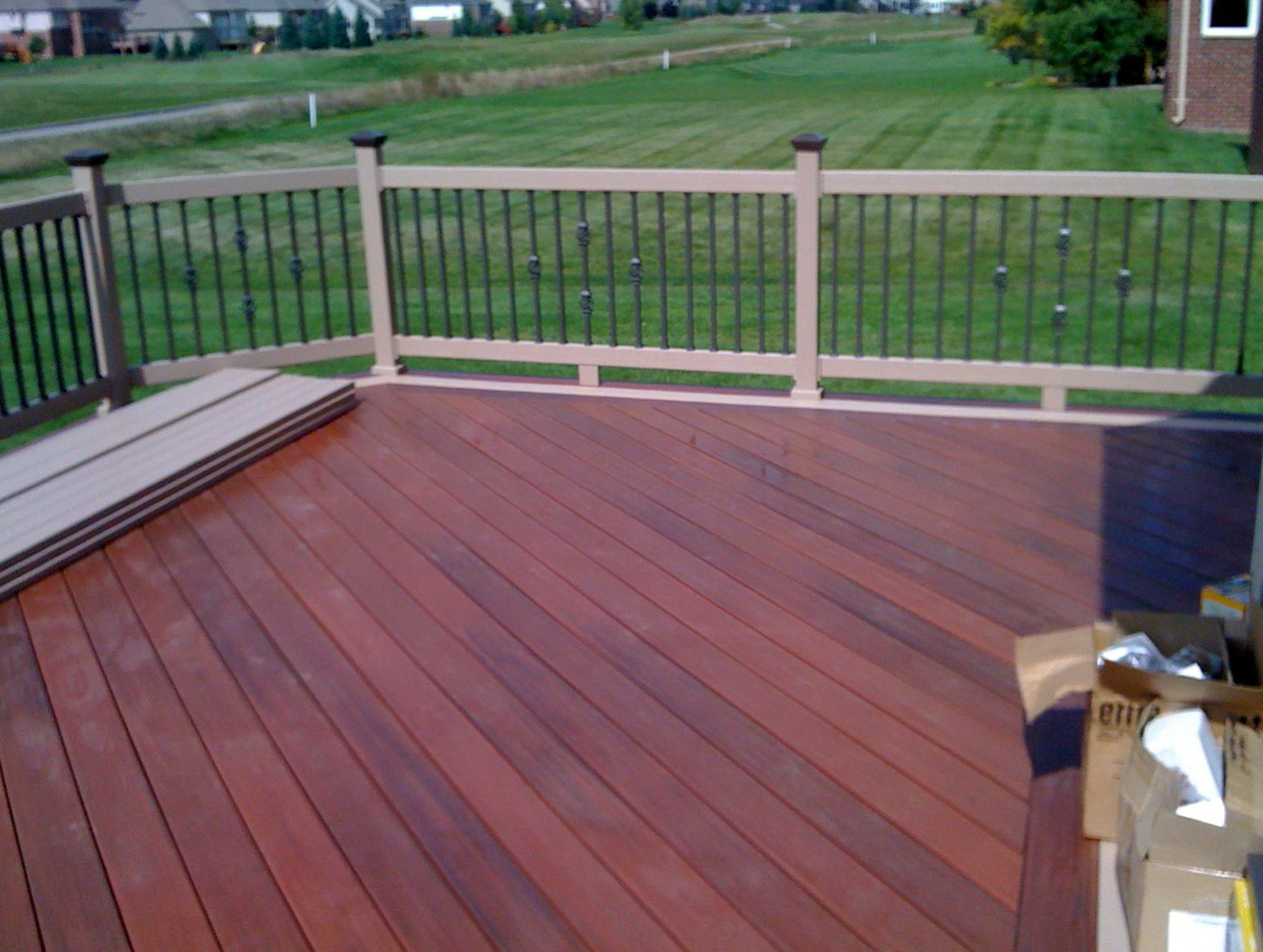 fiberon horizon decking prices home design ideas
