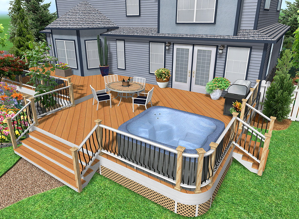 Stunning Deck Design Tool Home Depot Photos Decoration