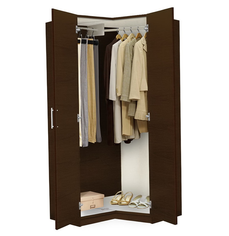 Free standing closets wardrobe with sliding doors seville for Stand alone wardrobe