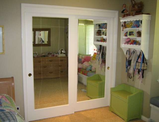 French Closet Doors With Mirrors