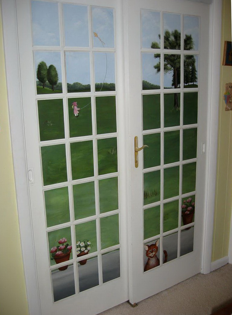 French Style Closet Doors