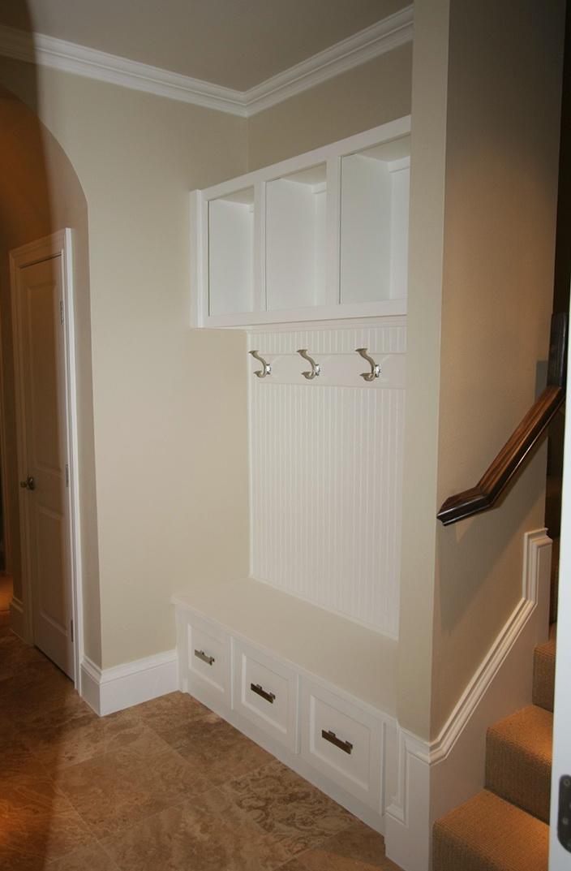 Front Hall Closet Shoe Storage Home Design Ideas