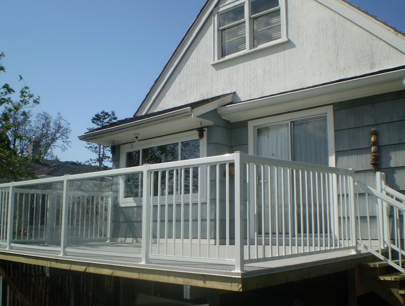 Glass Handrails For Decks
