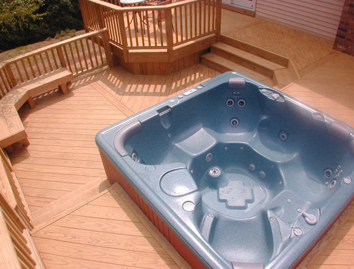 Hot tub deck plans free home design ideas for Hot house plans free