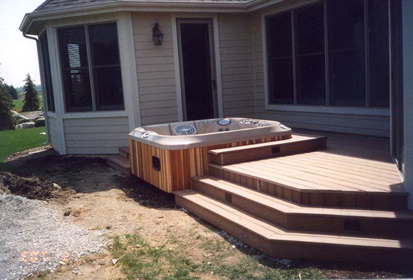 Hot Tub On Deck Requirements