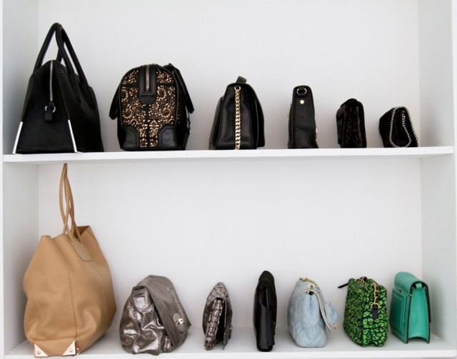 How To Organize Handbags In Your Closet
