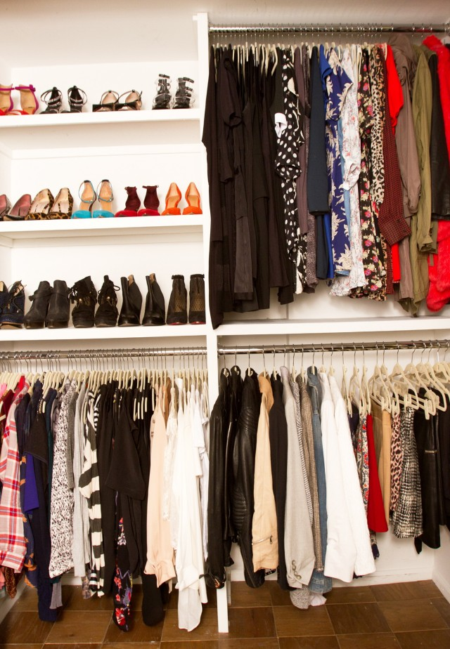 How To Organize Skirts In Your Closet