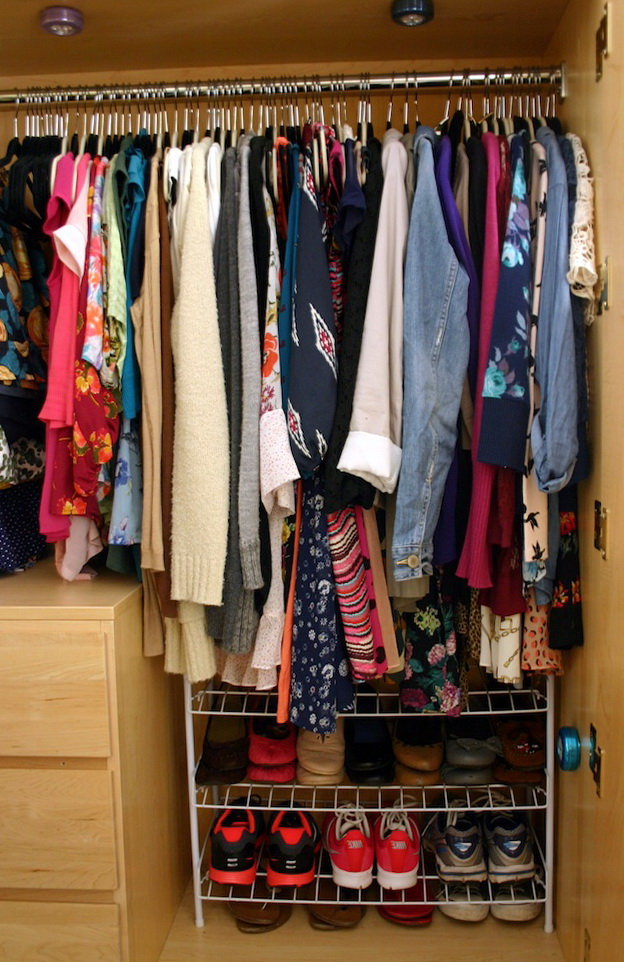 How To Organize Sweaters In Your Closet