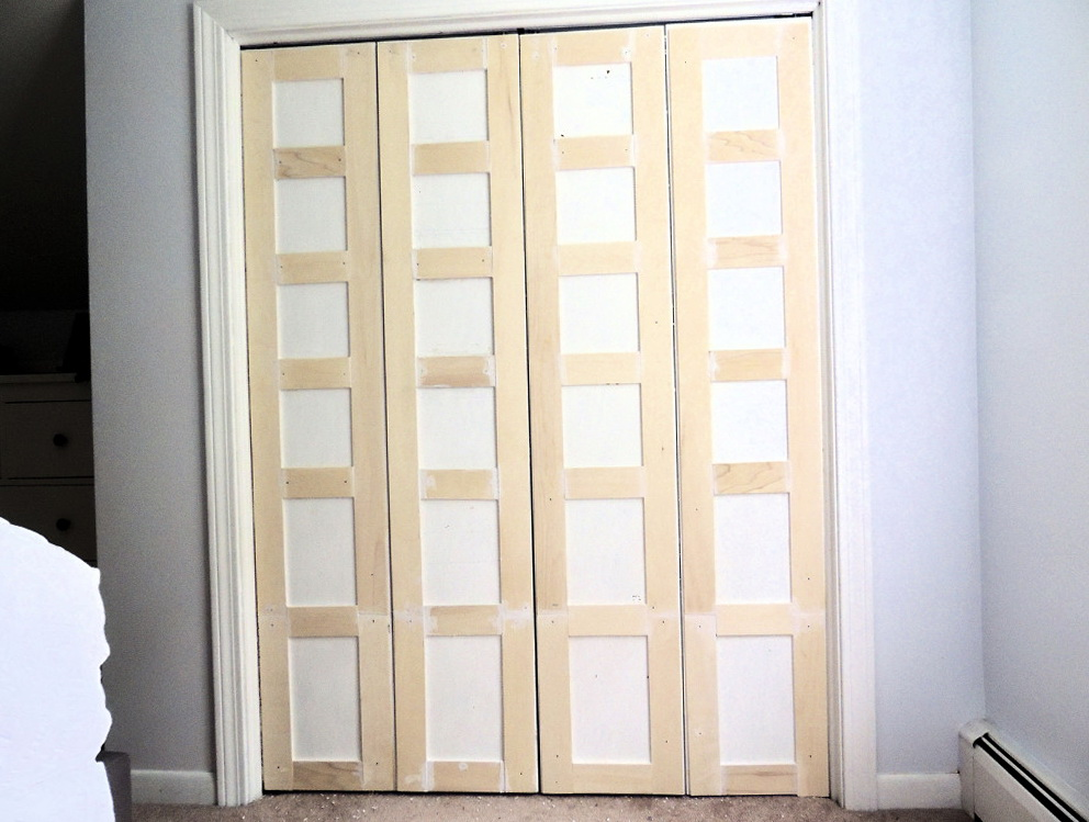 How To Trim Bifold Closet Doors