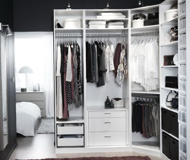 Ikea Pax Wardrobe Closet Ideas