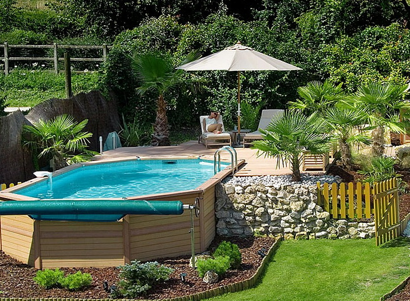 In Ground Pool Deck Designs