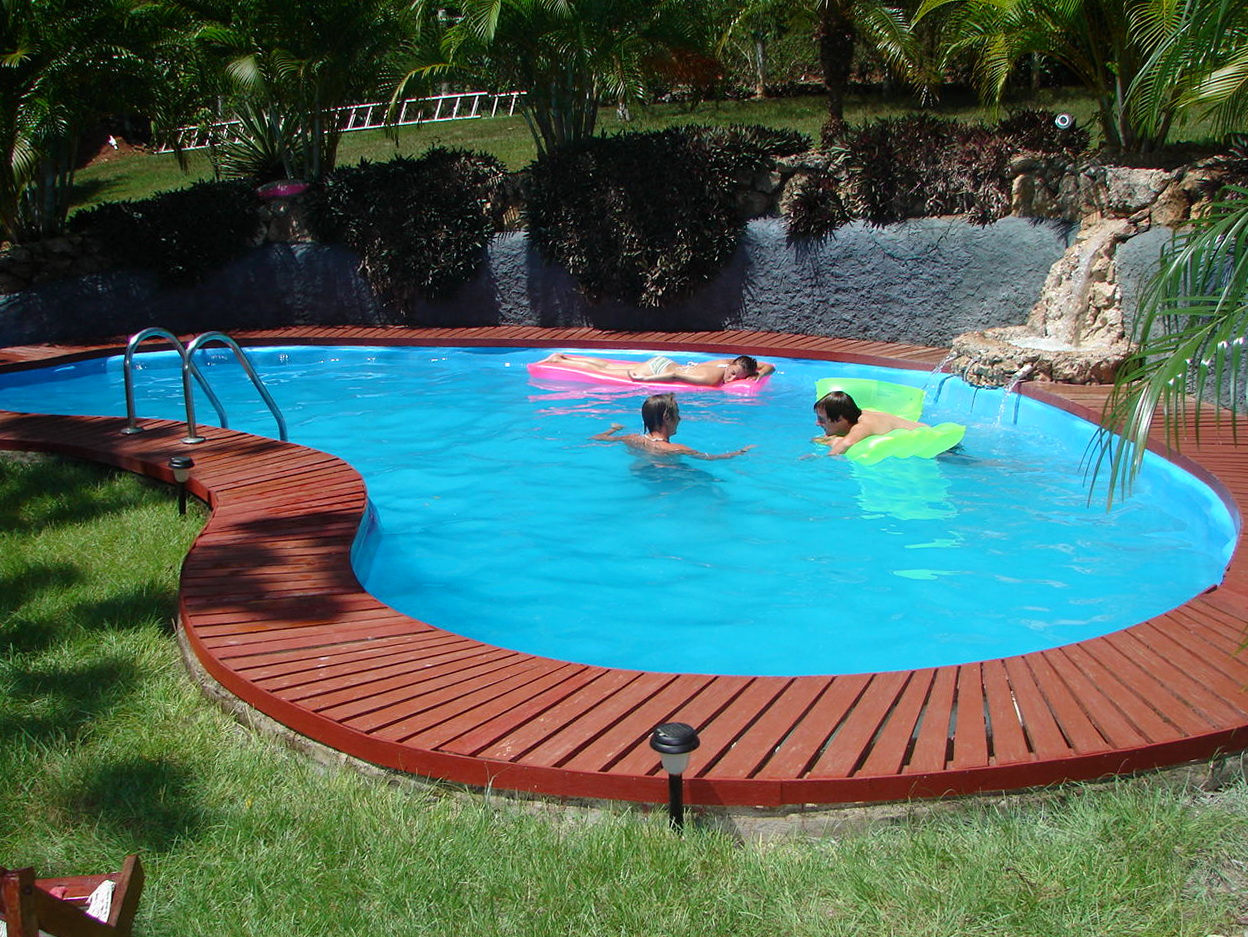 Inground Pool Decking Options