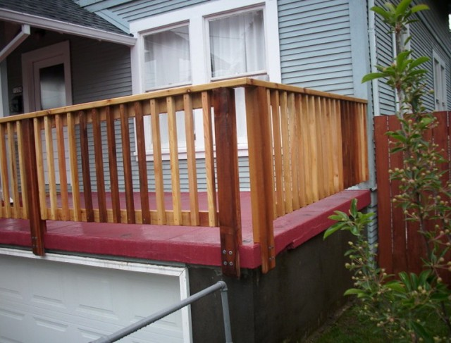 Installing Deck Railing Posts Corners