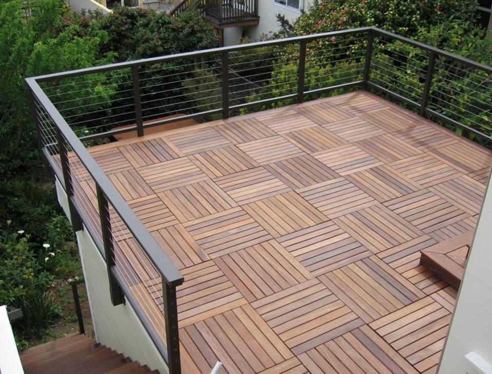 Ipe Deck Tiles Home Depot