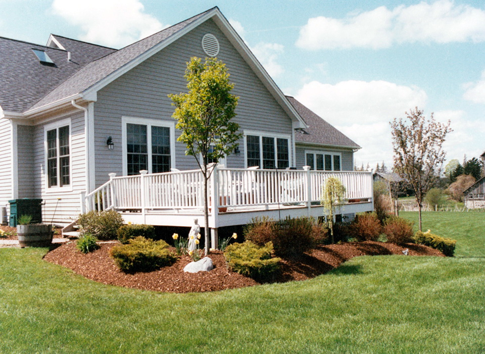 Landscaping Around Deck Pictures Home Design Ideas