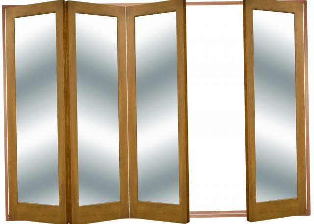 Large Bi Fold Closet Doors