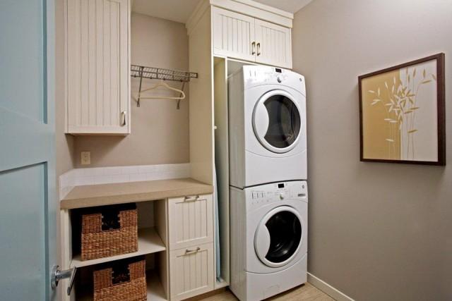 Laundry Closet Ideas Stackable
