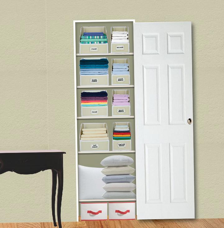 Linen Closet Storage Solutions