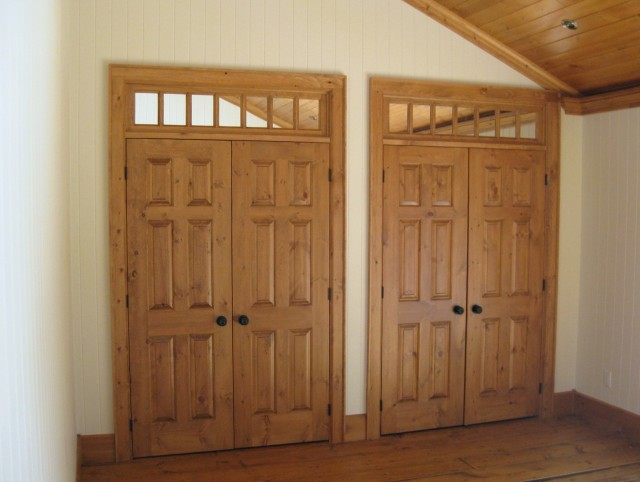 Master Bedroom Closet Doors