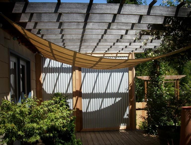 metal privacy screens for decks home design ideas