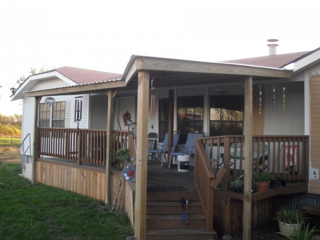Mobile Home Covered Decks