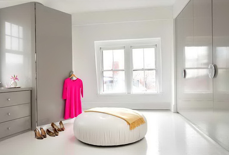 Modern Bedroom Closet Doors