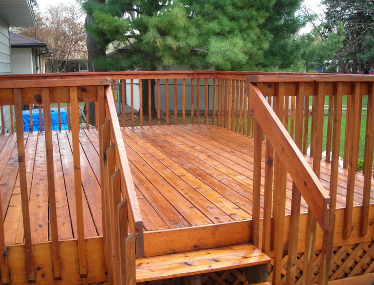 New Deck Paint Or Stain