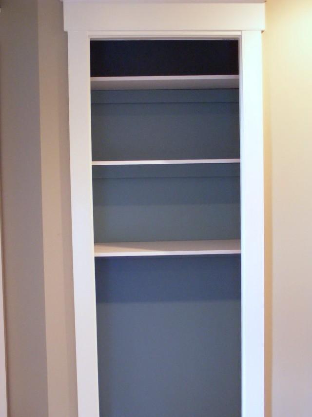Open Linen Closet Ideas