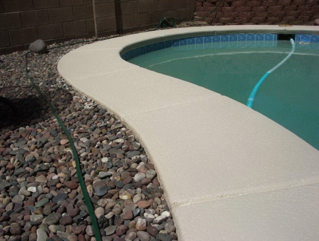 Pool Deck Coating Removal